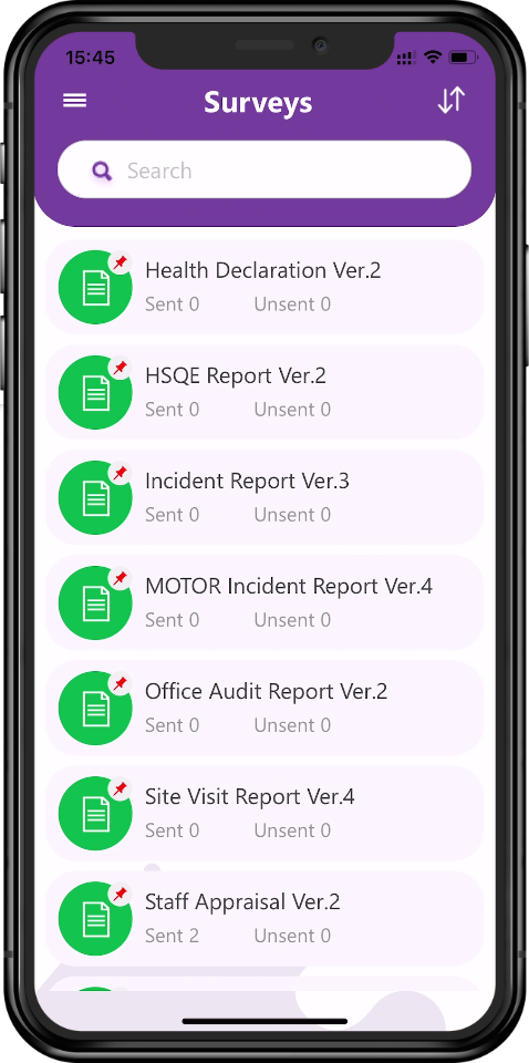 Tapapp for Health and safety reporting